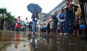 Declaran en emergencia 53 distritos de Arequipa y Huánuco por fuertes lluvias