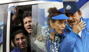 Nicaragua: Daniel Ortega libera a más de un centenar de presos opositores