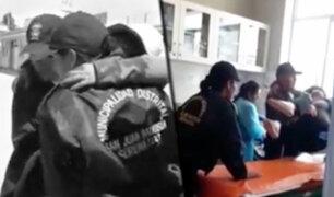 Ayacucho: mujer es agredida por su pareja con un desarmador