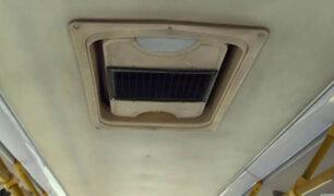 Presentan buses del Metropolitano con nuevo sistema de ventilación