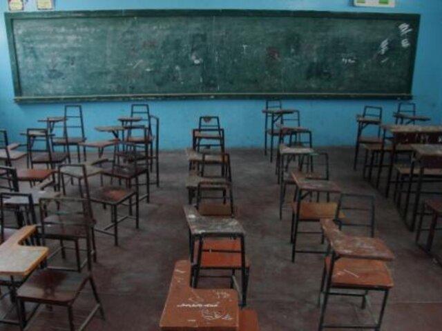Déficit en infraestructura educativa es de 100 mil millones de soles