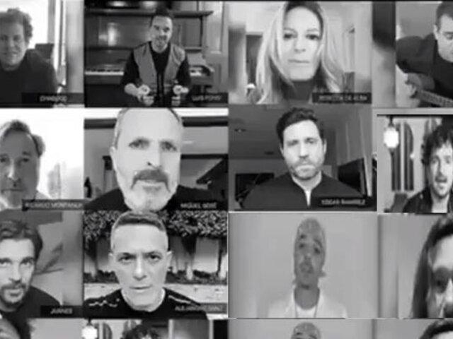 Artistas de todo el mundo envían mensaje de aliento a venezolanos