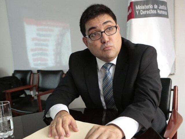"""Procurador general sobre salida de Ramírez: """"La idea es que no dude de la labor del sistema"""""""