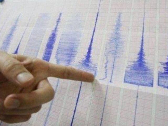Arequipa: esta mañana se registró sismo de magnitud 3.8