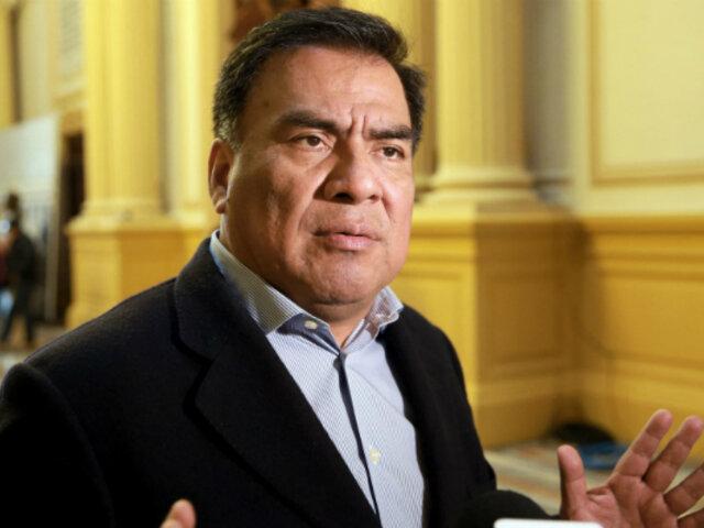"""Velásquez Quesquén acudió a Fiscalía para rendir declaración acerca del caso """"Los temerarios del crimen"""""""