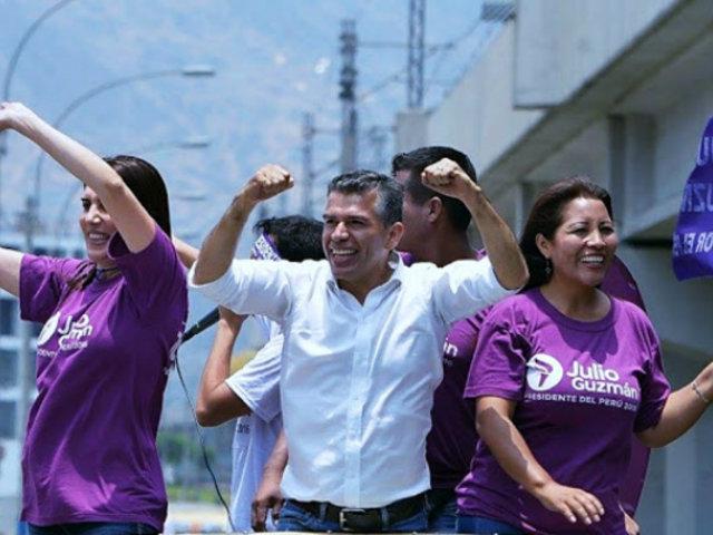 Partido Morado: tacha contra su inscripción fue declarada infundada
