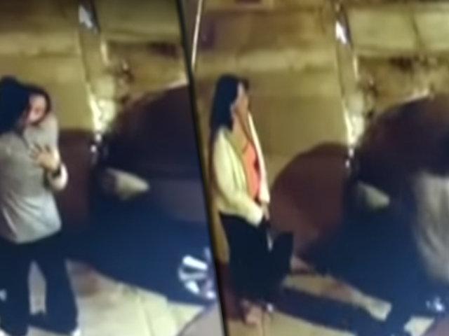 """Jesús María: """"Enamorados"""" en pleno San Valentín roban autopartes"""