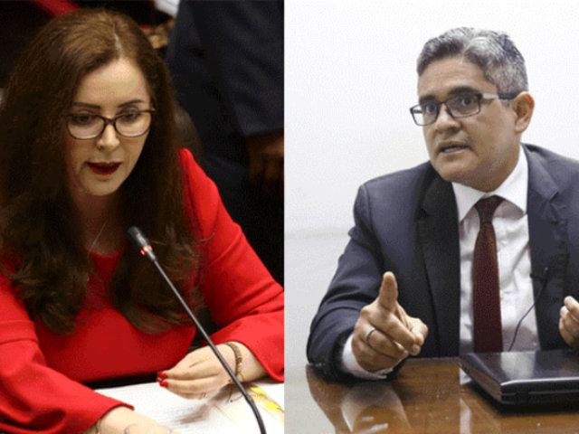 """Rosa Bartra a José Domingo Pérez: """"Ya es hora de que acuse a alguien"""""""