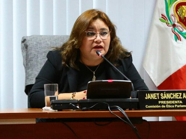 Janet Sánchez replanteará retiro de pedido para investigar mensaje de 28 de julio