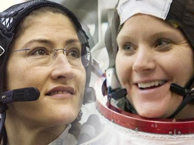 Por primera vez en la historia, dos mujeres harán una caminata espacial
