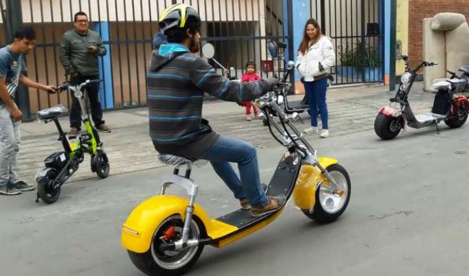 Resultado de imagen para motos electricas arequipa