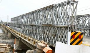 Cañete: pobladores y transportistas en peligro ante posible colapso del puente Clarita