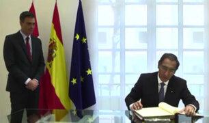 Presidente Martín Vizcarra adelanta retorno a Perú