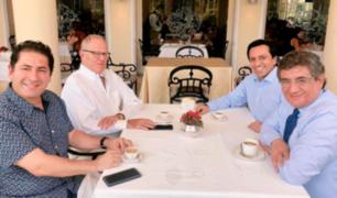 Congresistas de partido PpK se reunieron con expresidente Kuczynski
