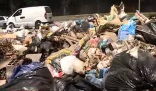 Municipalidad de El Agustino se pronuncia por acumulación de basura en sus calles