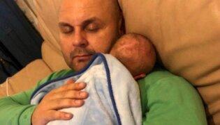 FOTOS: conocido DJ muere con su hijo en brazos