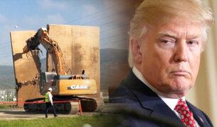 EEUU derribó los prototipos del muro en la frontera con México
