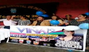 Lambayeque: moradores en Pátapo festejan triunfo de Susan Ochoa