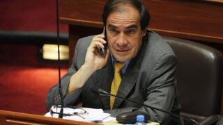 Lescano exigía ayer que se conozca identidad de congresista acusado de acoso sexual