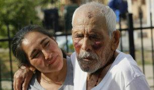 EEUU: condenan a 15 años de prisión a mujer que golpeó a anciano