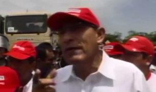 Piura: presidente Vizcarra anunció construcción de puente en Malingas
