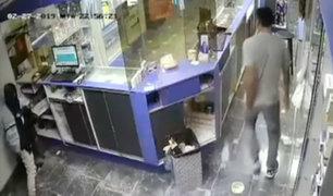 Carabayllo: asaltan farmacia por quinta vez