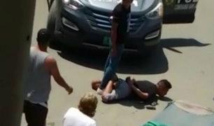 Balacera en San Juan de Miraflores: capturan a presuntos 'raqueteros' tras persecución