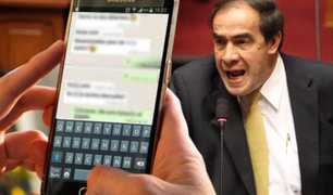 "Lescano acepta que ""bromas"" con reportera pudieron ser subidas de tono"