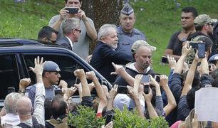 Brasil: expresidente Lula dejó prisión para ir a funeral de su nieto
