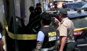 Surco: policía abate a delincuente que participó en asalto a financiera en Chorrillos