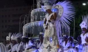 Brasil: magia y color en segundo día del carnaval de Sao Paulo