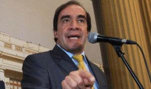 Yonhy Lescano sobre denuncia de acoso: No me va intimidar la mafia