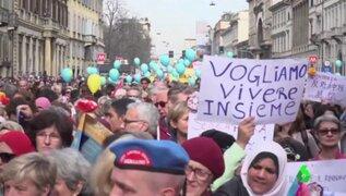 Italia: se realizó protesta contra el racismo y la política migratoria en Milán