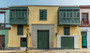 Restauran fachada de casona donde vivió Lucha Reyes