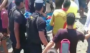 Tumbes: hallan cuerpo de niña que se ahogó en Puerto Pizarro