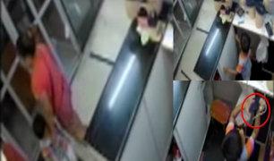 Gamarra: madre utiliza a su hijo para robar en galerías comerciales