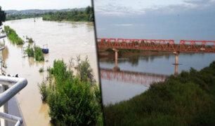 Senamhi emite alerta roja por peligro de desborde del río Tumbes