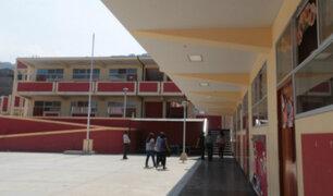 Minedu: 83% de colegios en Lima recibió transferencias para mantenimiento de locales