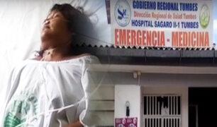 Intento de feminicidio: mujer es acuchillada 18 veces por su expareja en Tumbes