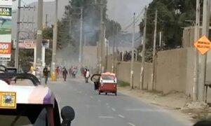 Chosica: grupo de obreros es atacado a balazos por turba de 30 sujetos