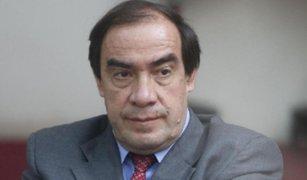 Yonhy Lescano solicitó licencia temporal a la Comisión de Ética