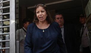 Lourdes Flores declaró ante fiscal Pérez por aportes irregulares de campaña