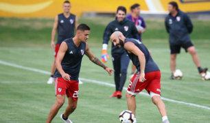 Con miras al partido contra Alianza Lima: River Plate entrenó en La Florida