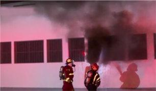 Cercado de Lima: se registra incendio en colegio parroquial