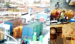 Ate Vitarte: venden pollos en condiciones insalubres que serían distribuidos en todo Lima