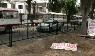 Proponen construcción de ciclovías en avenida Benavides tras tala de árboles
