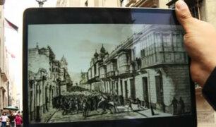 Casonas coloniales del Centro de Lima recuperadas por Arte Express