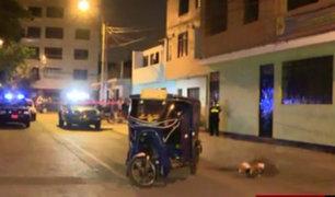 Los Olivos: matan a balazos a mototaxista en presunto ajuste de cuentas