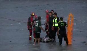 Delincuente muere ahogado en el río Rímac cuando evitaba ser detenido