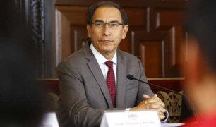 Según Datum, aprobación de Martín Vizcarra bajó siete puntos porcentuales